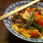 Chinese Pan Fried Noodles