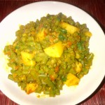 Green Bean & Aloo Shak