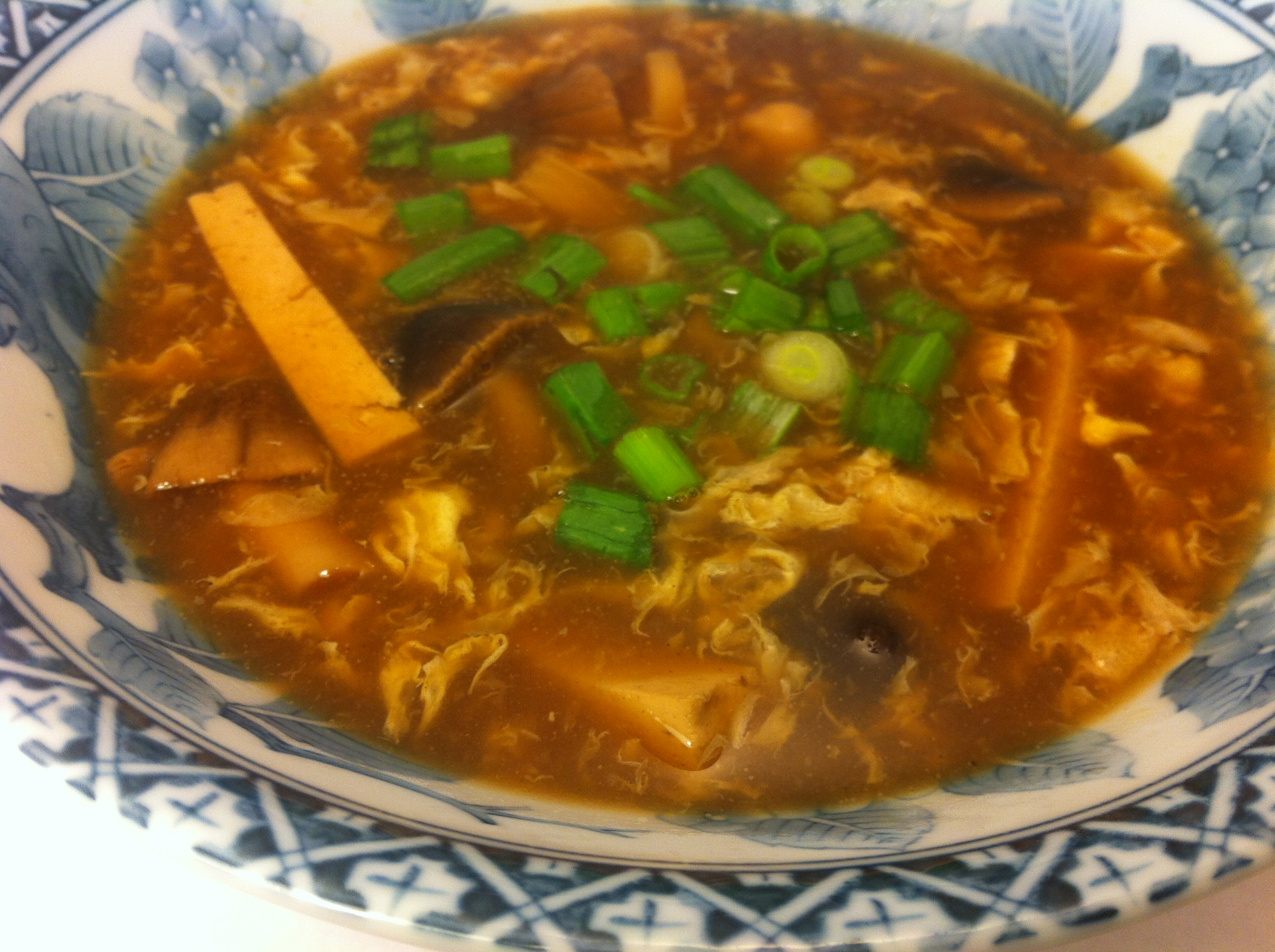 updated 1 6 13 tonight we had hot and sour soup as our main dish i ...
