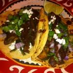 Mushroom & Poblano Tacos