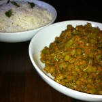 South Indian Green Beans & Mustard Seed Rice