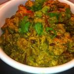 Dahi Bhindi (Okra in Yogurt Curry)