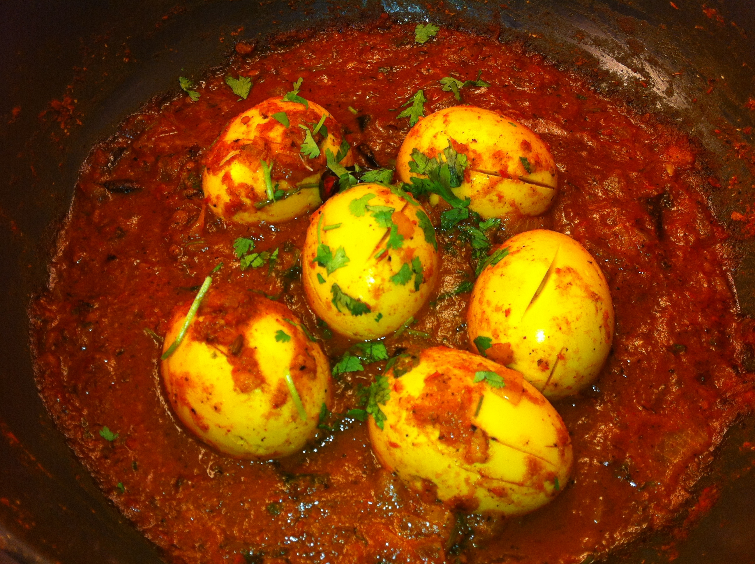 Peppery Egg Curry - Mayabugs's Recipes