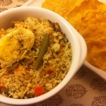 Andha Egg & Vegetable Biryani