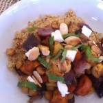 Moroccan Roasted Vegetables with Cous Cous
