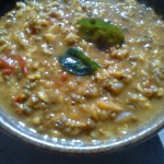 Moong Dal with Curry Leaves