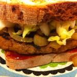 Vegetarian Gochujang Burgers