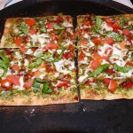 Pesto Veggie Lavash Pizza 3