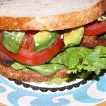 BLTA Vegetarian Style