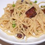 Vegetarian Pasta Carbonara