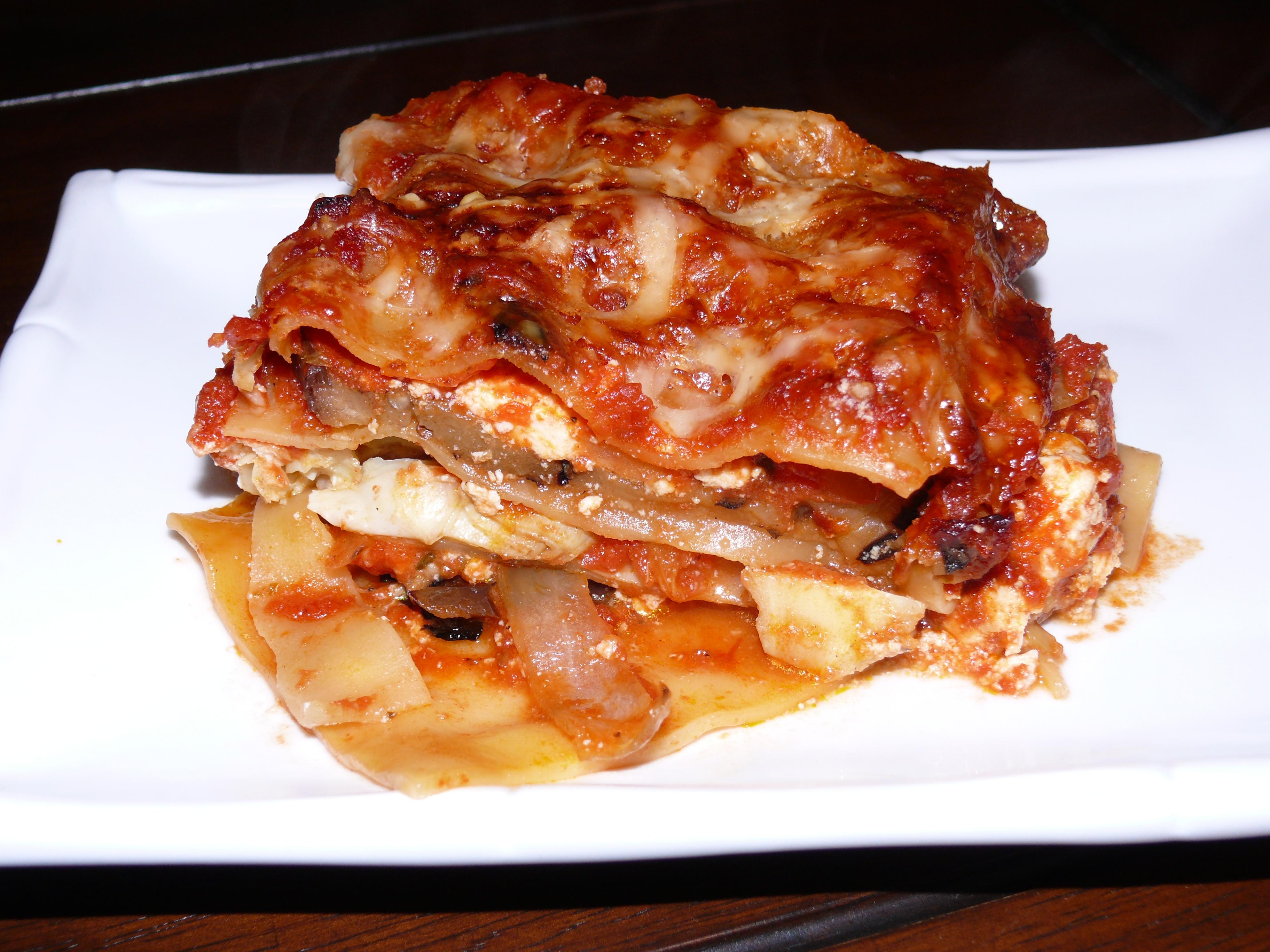 Eggplant & Artichoke Lasagna 2