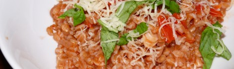 Amazing Farro with Tomatoes