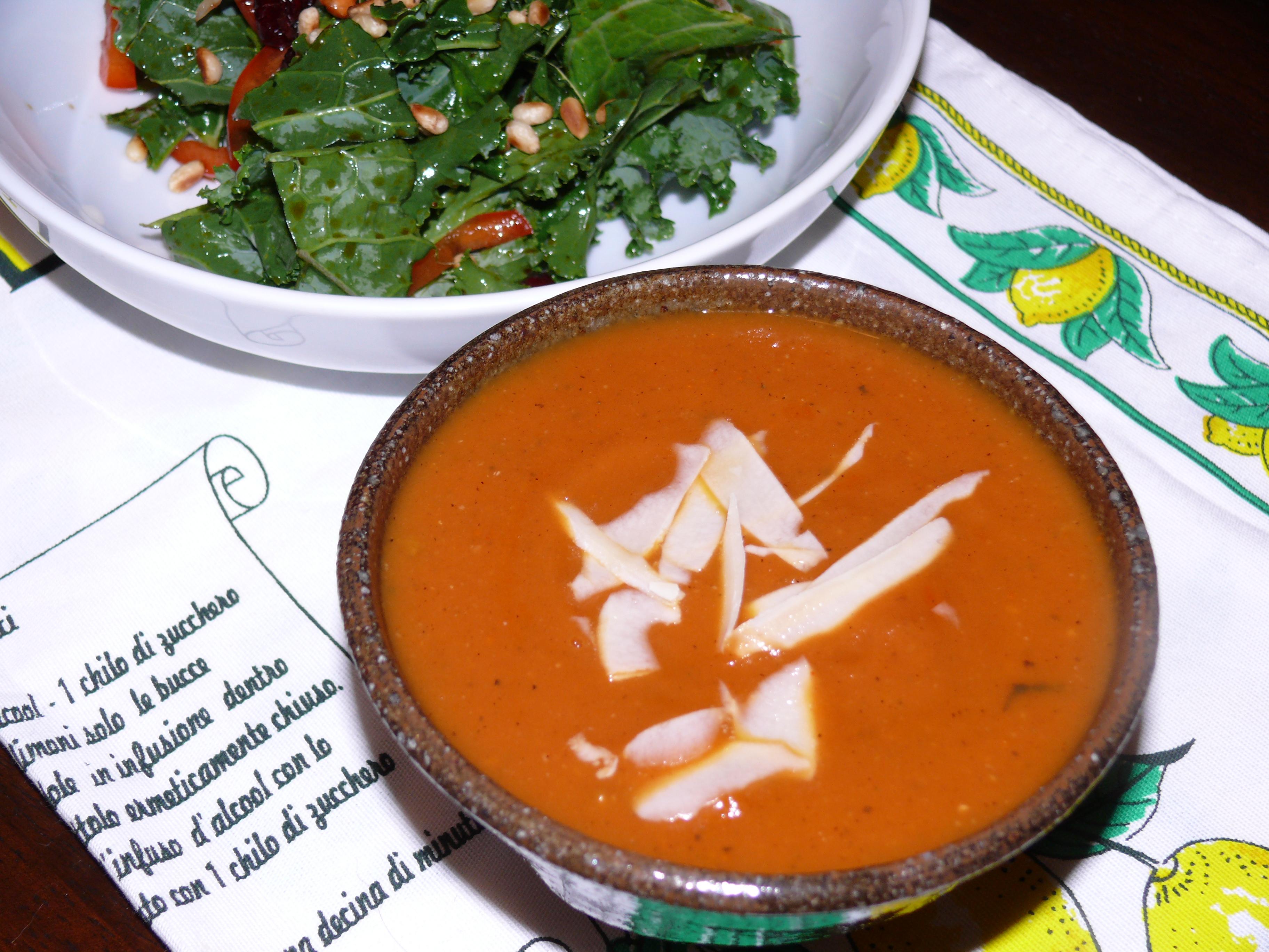 Carrot & Tomato Soup