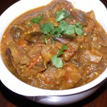 Gujarati Eggplant Curry