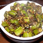 South Indian Okra (Dry)