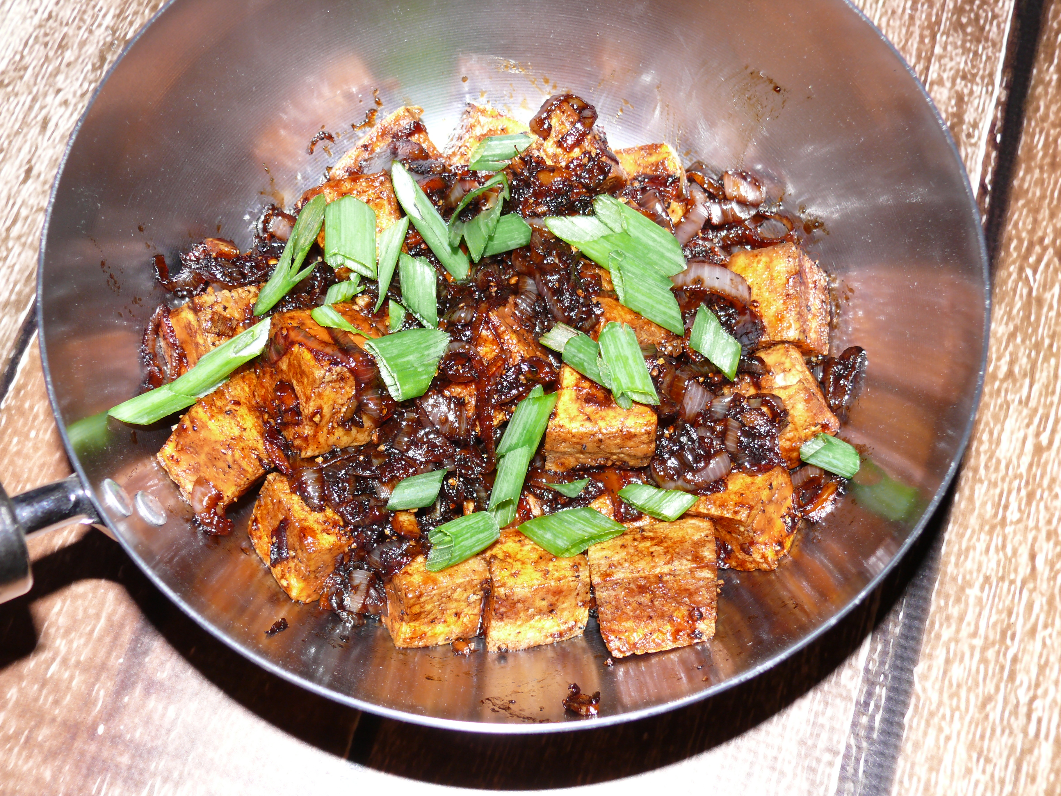 Spicy Peppery Tofu