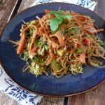 Tahini Soy Kelp Noodle Salad