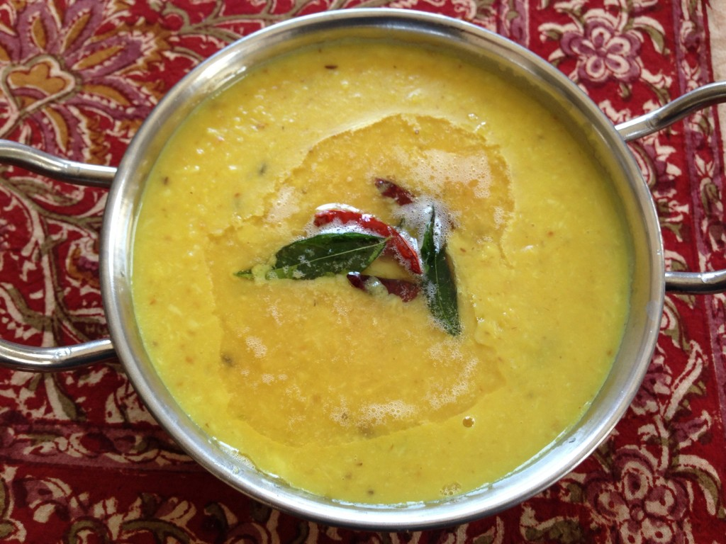 Yellow Moong Dal Curry w/ Ground Coconut - Mayabugs's Recipes