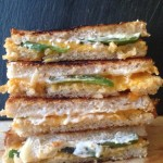 Jalapeno Popper Grilled Cheeses
