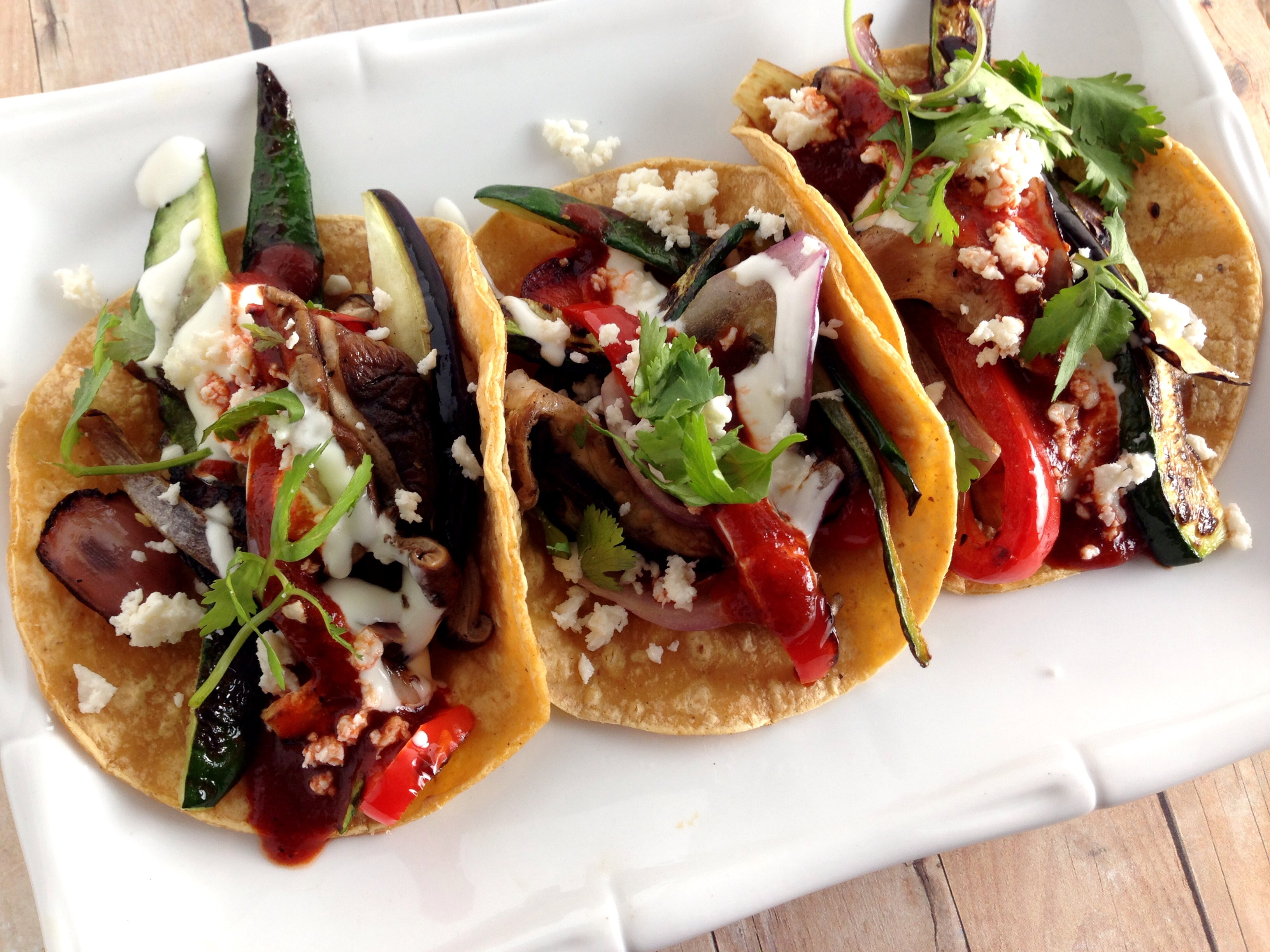 Veggie Tacos