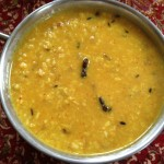 Bengali Dal with Coconut & Mustard Oil