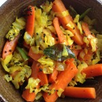 gujarati stir fried carrots