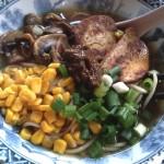 Sesame Garlic Vegetarian Ramen