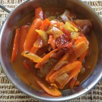 Red Capsicum Curry