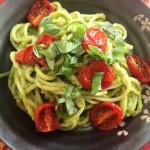 avocado spaghetti