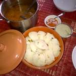 Stuffed Idli & Sambhar