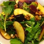 Apple, Walnut & Blue Cheese Salad