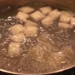 Homemade Gnocci Prep 5