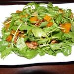 Arugula Butternut Squash Walnut Salad 2