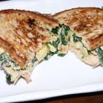 Spinach & Artichoke Dip Sandwich