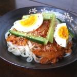 Kimchi Cold Noodles