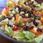 salad with cumin vinaigrette